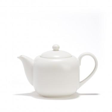 Théière porcelaine - SHIRO - 0,70 L filtre - BLANC