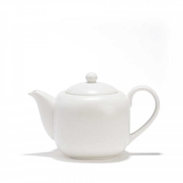 Porcelain teapot - SHIRO - 0,70 L  - white