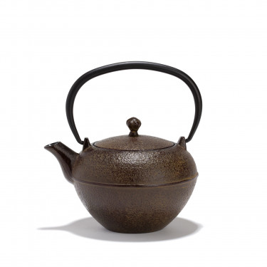 Chinese cast iron teapot - GUA - 0.45L - Brown