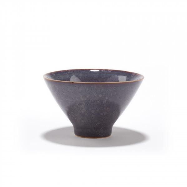SICHUAN - bol à thé en grès bleue-violette 12CL