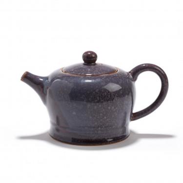 Stoneware teapot - SICHUAN - 0,6L - purple-blue