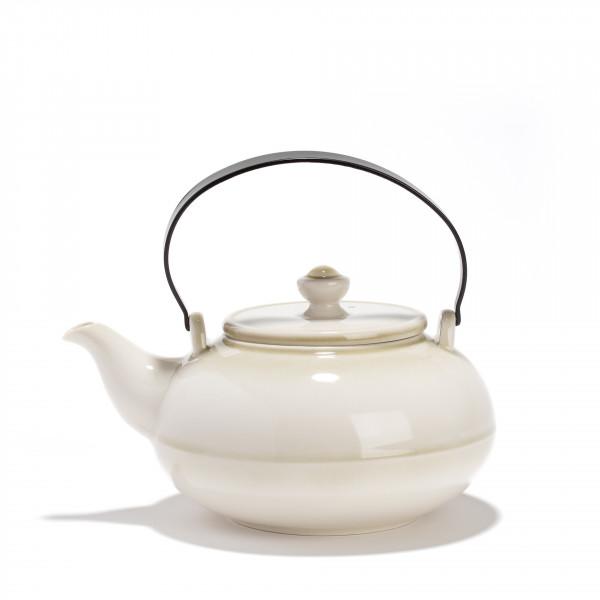 Porcelain teapot - GONGJANG - 0,8L - Vegetal finish