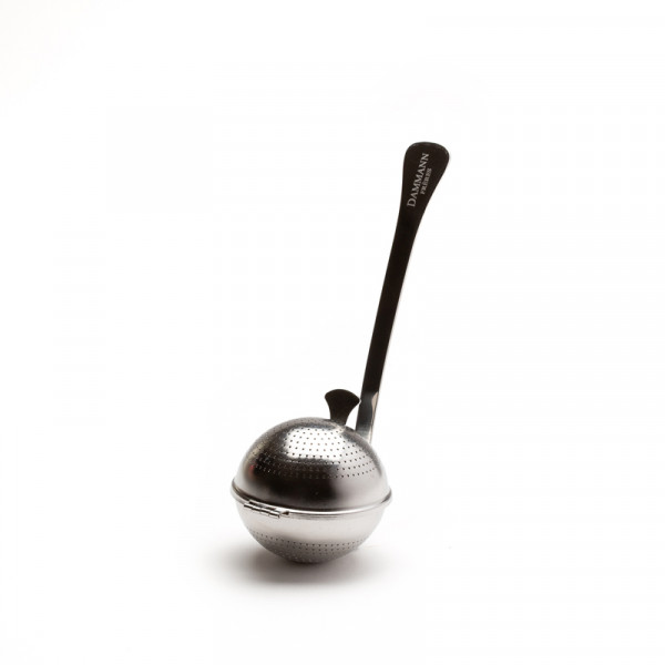 Perforated stainless steel tea ball