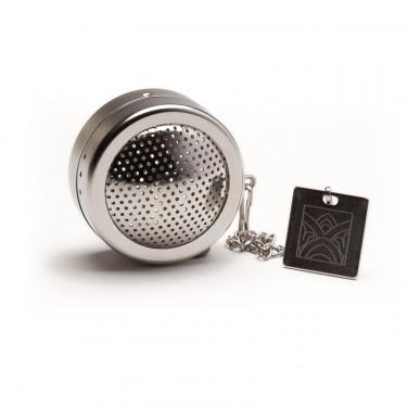 Perforated stainless steel tea ball - diam. 4 cm