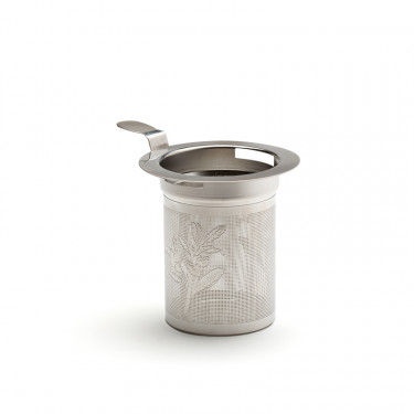 """""""CAMELLIA"""" - stainless steel teapot filter with handle"""