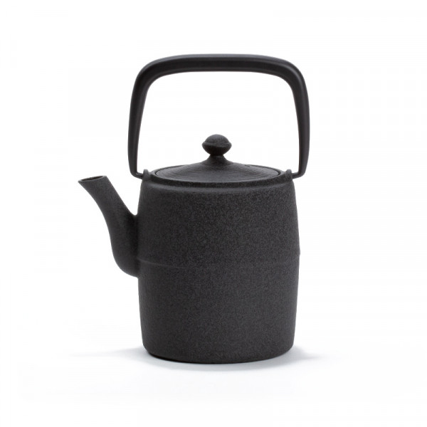 Japanese cast iron teapot - WABI 0,6L - grey