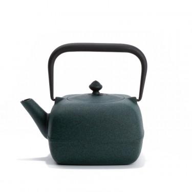 Japanese cast iron teapot - YOHO 0,8L - green