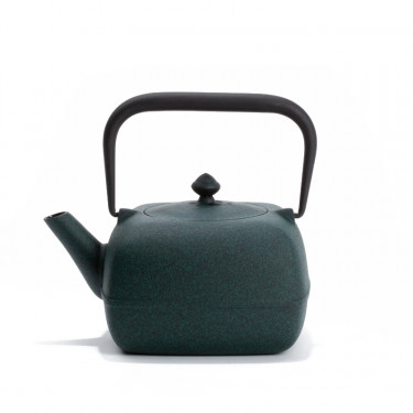 Japanese cast iron teapot - YOHO 0,8L - green