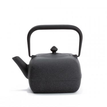 Japanese cast iron teapot - YOHO 0,8L - gray