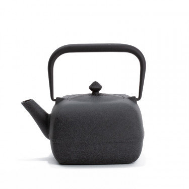 Japanese cast iron teapot - YOHO 0,8L - gray
