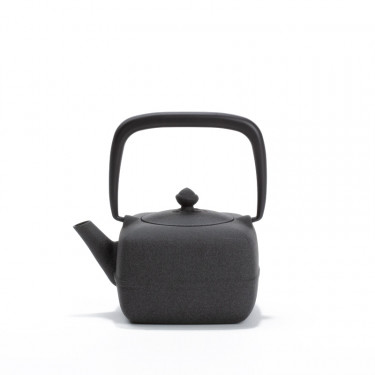 Japanese cast iron teapot - YOHO 0,4L - gray