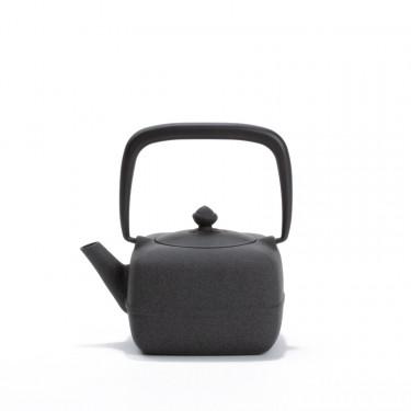 Japanese cast iron teapot - YOHO 0,4L - gray