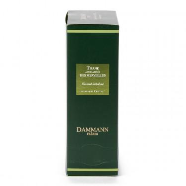 Herbal tea - TISANE DES MERVEILLES, box of 24 enveloped Cristal® sachets