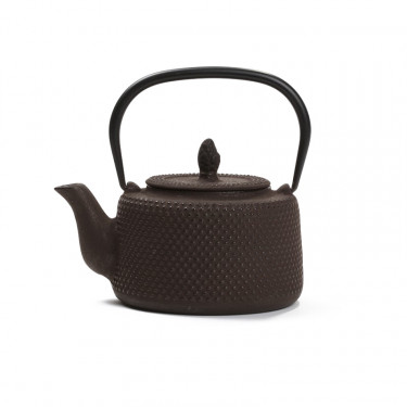 Chinese cast iron teapot - PAGODE 0,7L - Brown