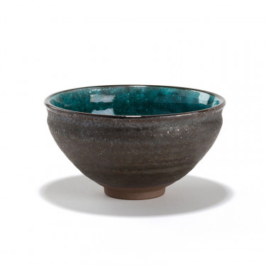 TAKOIZU' MATCHA TEA BOWL - BLACK METALLIC