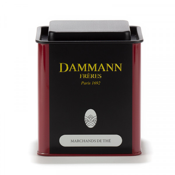 Dammann Frères empty canister 250 g