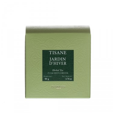 Jardin d'Hiver, box of 25 Cristal® sachets