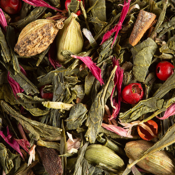 Green tea - SPICY COCO