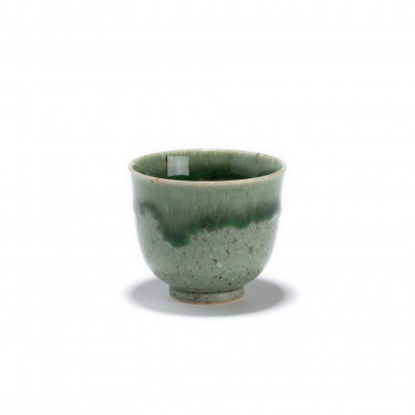 HANTO - Green porcelain tea bowl