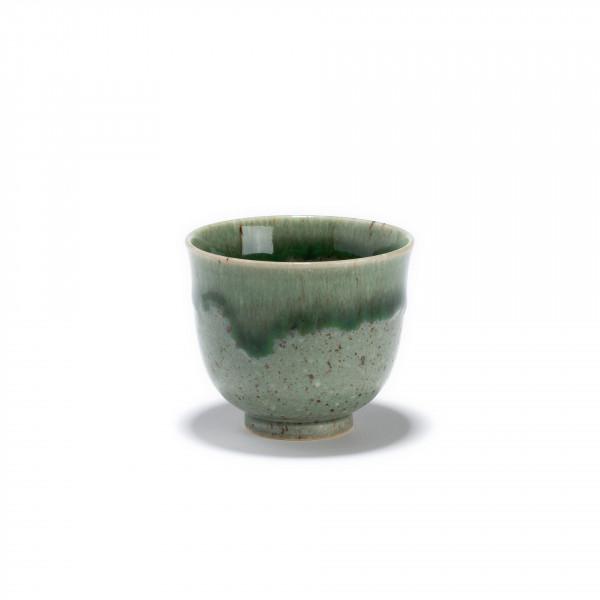 HANTO - Green porcelain tea bowl