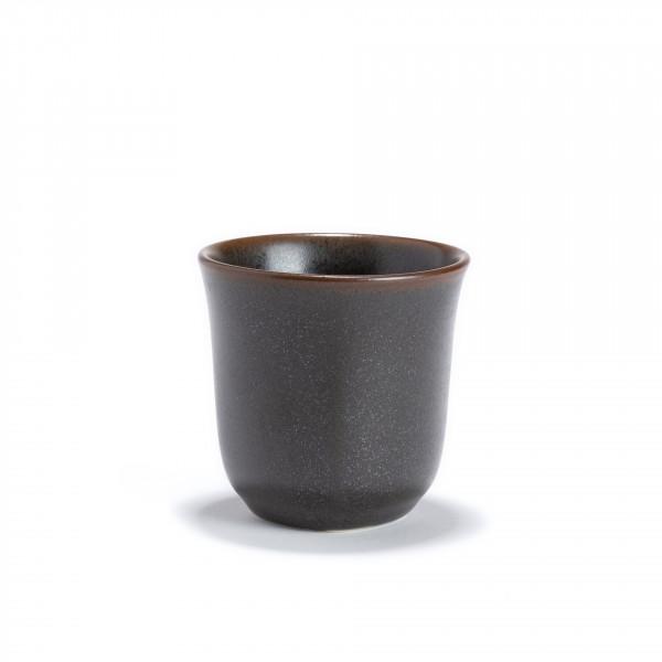 KURO - Dark grey porcelain tea bowl