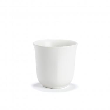 SHIRO - white porcelain tea bowl