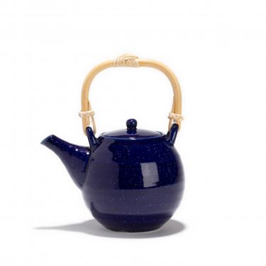 Théière porcelaine - AOI - 0.55L - Bleu de four