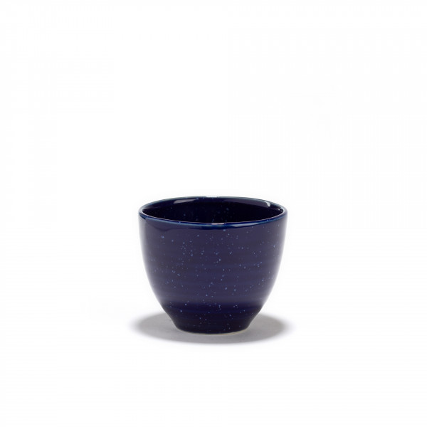 AOI - Dark blue porcelain tea bowl