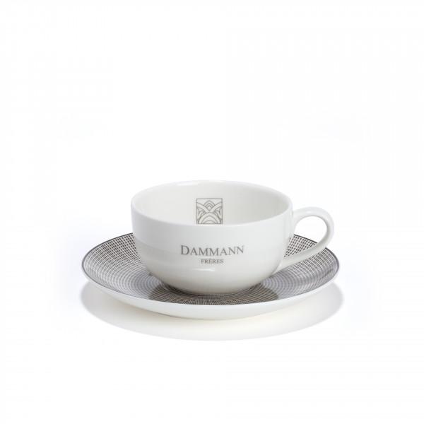 Tasse à thé et sous-tasse Dammann Frères