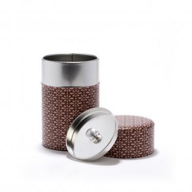 POPI - Boîte à thé rouge indien en papier Washi - 100G