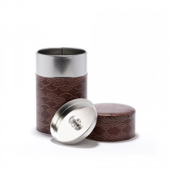 AIMAINA - Boîte à thé rouge indien en papier Washi - 100g