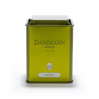 Empty Dammann Frères's tin 'Infusion' 100g