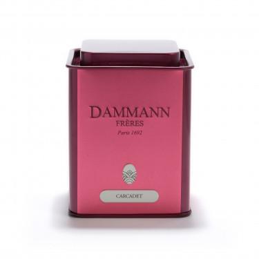 Empty Dammann Frères's tin 'Carcadet' - 100g
