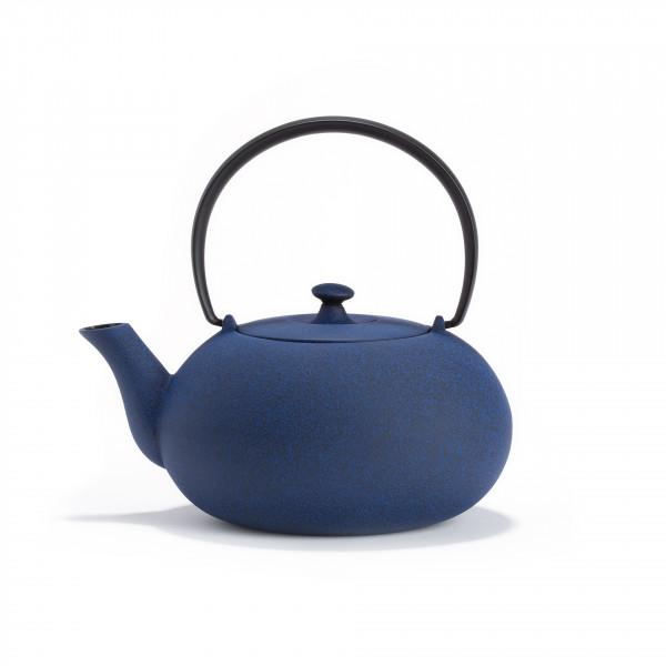 Japanese cast iron teapot - FUKU 0,55L - Blue