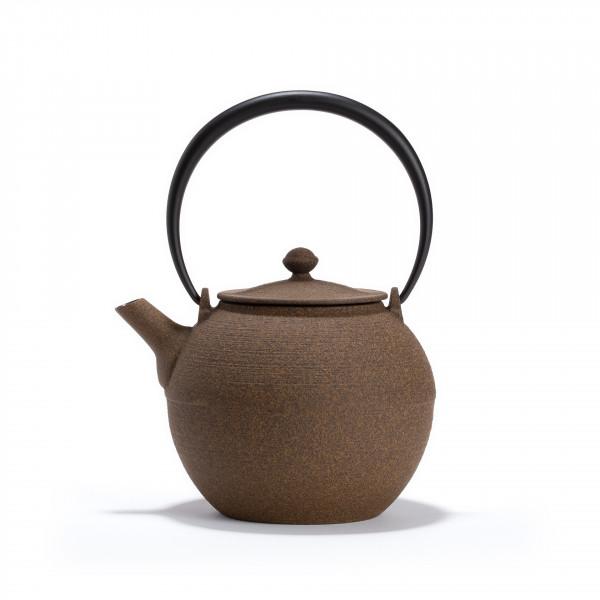 Japanese cast iron teapot - HIKIME 0.95L BEIGE