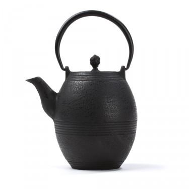 Théière Fonte de Chine - Jidan Oeuf 0.8L - Noire