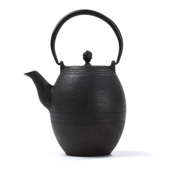 Chinese cast iron teapot - Jidan 0,8 L - black