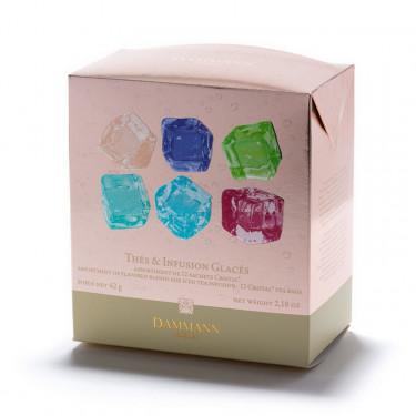 Boîte assortiment 12 sachets Thés & infusion glacés