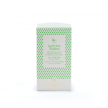 Matcha Tradition sticks, green tea Japan