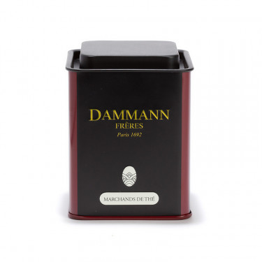 Empty Dammann Frères's canister 'Marchands de thé' - 100g