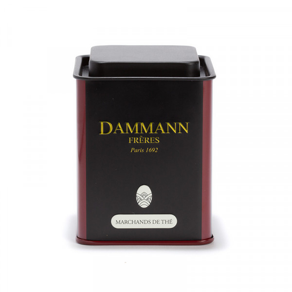 "Boîte vide Dammann ""Marchands de thé"" - 100g"