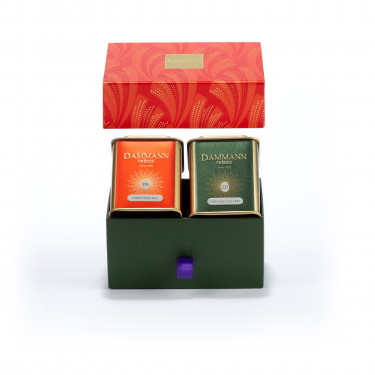 """Happy Holidays"" gift set - 2 assorted teas in gift set"