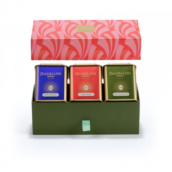 """""""CHRISTMAS TALE"""" gift set - 3 assorted teas in gift set"""