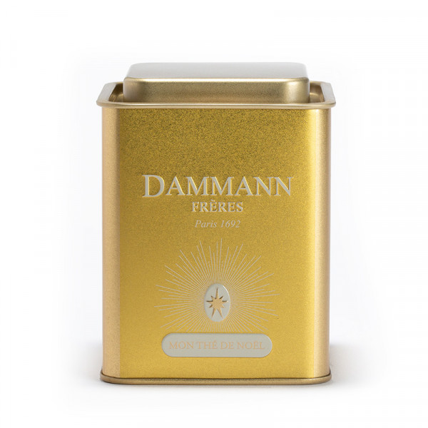 Boîte vide DAMMANN Frères - Mon thé de Noël