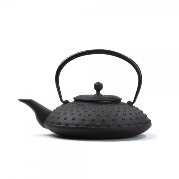 Japanese cast iron teapot - Kanbin 0,7 L - black