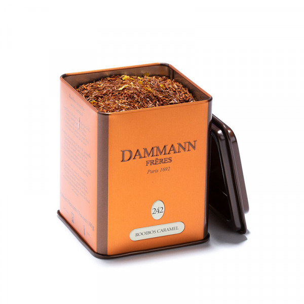 Rooibos Caramel N°242, boîte de 100g