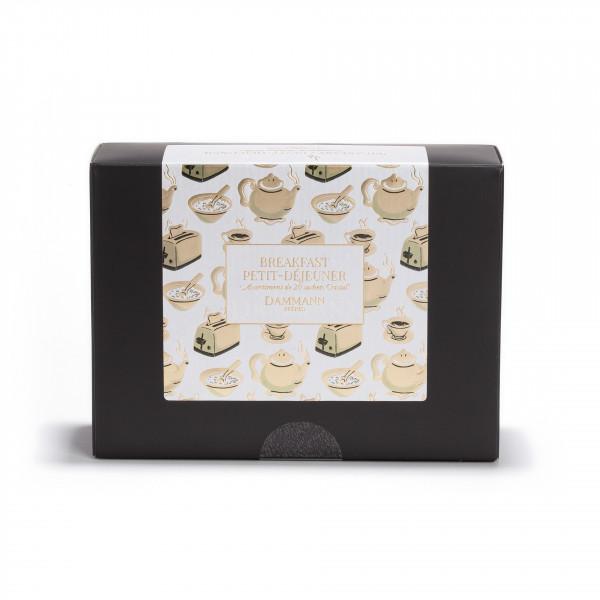 """Breakfast / Petit-Déjeuner"" gift set - 20 assorted sachets"