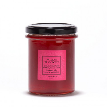 Carcadet Passion-Framboise' fruit infusion jelly