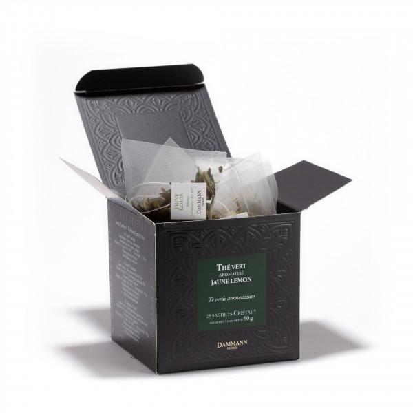 Jaune Lemon, box of 25 Cristal® sachets