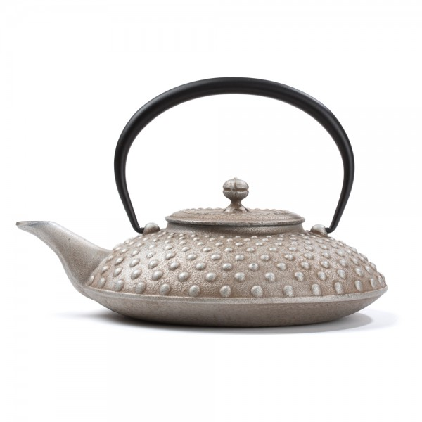 Japanese cast iron teapot - Kanbin 0,7 L - silver